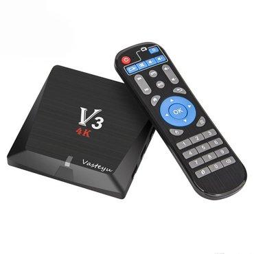 Tv box v3 4k 2gb/8gb crni - Beograd