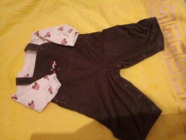 Теплый комбинезон,состояние отличное, возраст 6-12мес.цена 500сом. в Бишкек