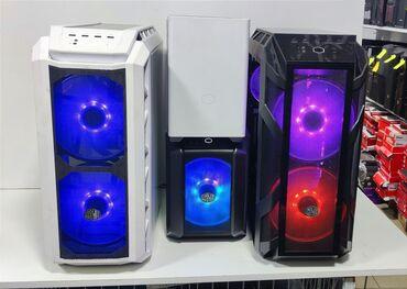 пк бишкек in Кыргызстан | ДРУГИЕ КОМПЛЕКТУЮЩИЕ: Мощный системный блок в корпусе от CoolerMaster H500M RGB для любых