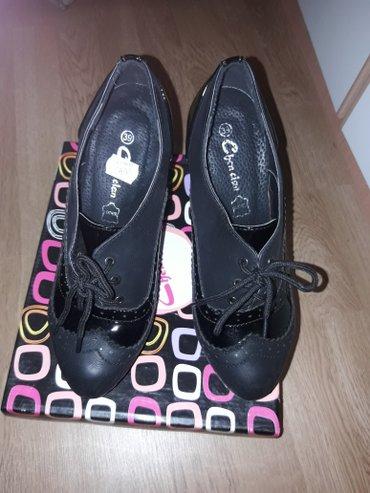 Nove cipele. Nisu nosene. 39 broj. Kao i sto se vidi jos stoji cena na - Vrnjacka Banja