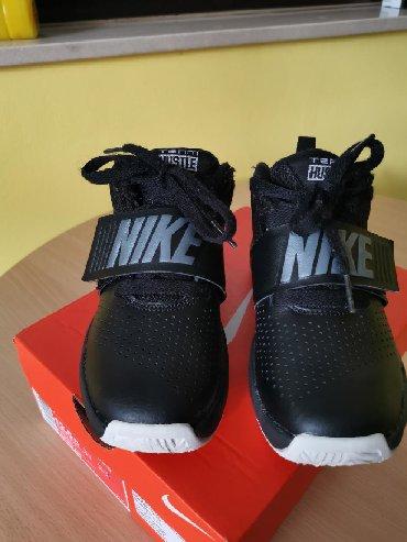 Decije patike Nike HUSTLE 8.U odlicnom stanju, nosene par puta, dete