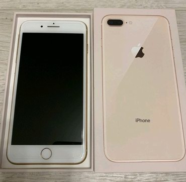 Продаю айфон 8+ gold 64gb в Бишкек
