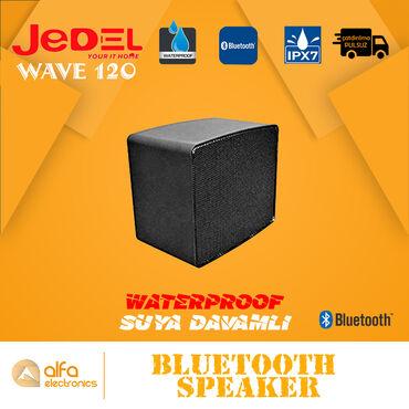 Wave 120 IPX5 texnologiyası ilə təchiz olunmuşdur və waterproof Su