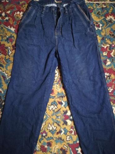 джинсы мужские 32 в Кыргызстан: Джинсы мужские. Состояние хорошее. Размер 32. Плотная джинсовая ткань
