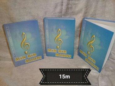 Min bir mahni kitabi yeni cap 2012