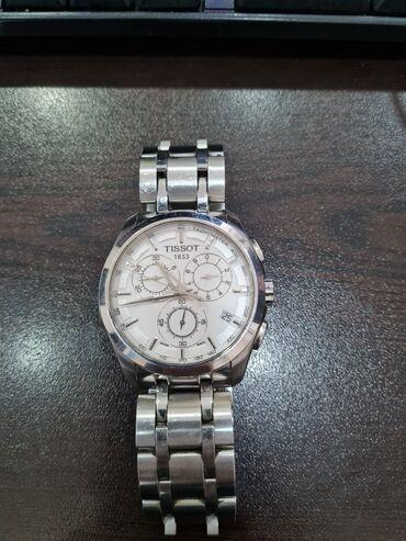 Gümüşü Kişi Qol saatları Tissot