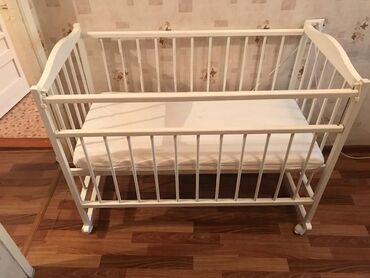 бу детские кроватки в Кыргызстан: Детская кровать от 0 мес до 5лет В ИДЕАЛЬНОМ СОСТОЯНИИ !Продаем очень