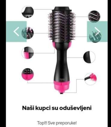 2u1 - Četka za sušenje i oblikovanje kose Snaga 1000w. Istovremeno