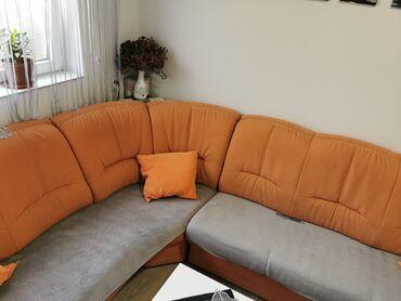 Kuća i bašta - Pancevo: Na prodaju veoma kvalitetna ugaona garnitura,koriscena oko jedne god.a