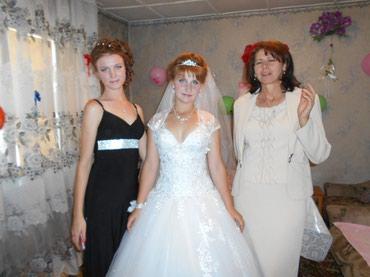 Красивое свадебное платье, новое в Бишкек