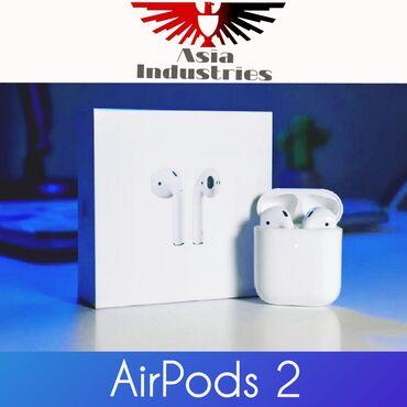 наушники-moreblue в Кыргызстан: Airpods 2•Эйрподсы 2Аирподс 2Беспроводные наушники•✔ Гарантия год✔