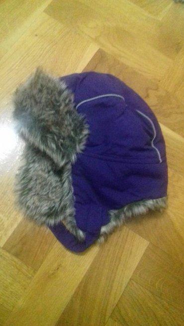 Zimska kapa za devojcice u super stanju.Velicina 86-98 do trece godine - Smederevo