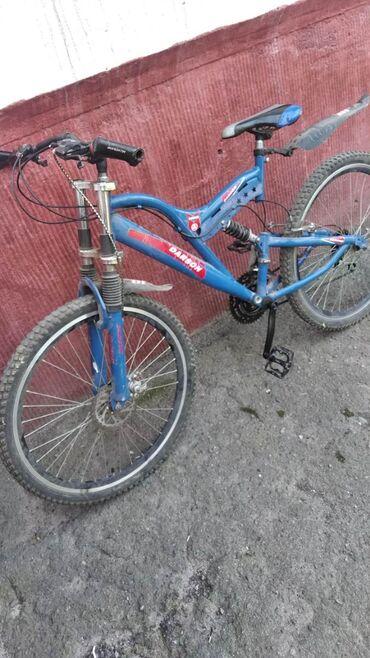 """Продаю горный скоростной велосипед с амортизатором """"Darson""""!Или меняю"""