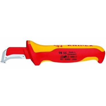 KNIPEX. Инструменты. Knipex. Нож для удаления изоляции 155 mm (нож с