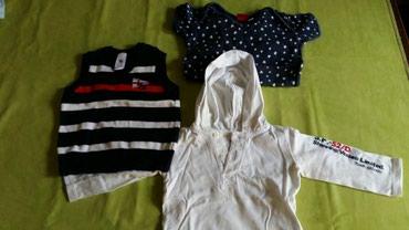 Tri stvari za bebe sve velicina 74 i kupljeno u Fr - Petrovac na Mlavi