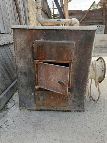 Уютная печка хорошо работает