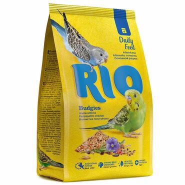 RIO Корм для волнистых попугайчиков. Основной рацион, 1 кг