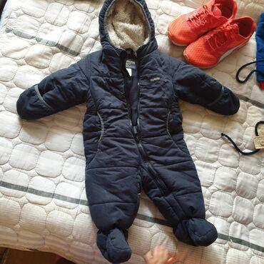детская осенняя одежда в Кыргызстан: Детский комбинезон осень/зима OSHKOSH на 6/9 мес, состояние хорошее