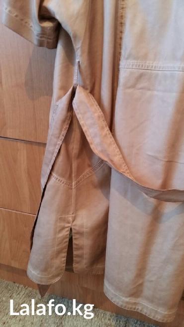 аялзат в Кыргызстан: Шикарный летний тренч, ткань под кожу, состояние новое, размер 36-38