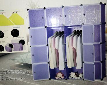 Kuća i bašta - Pirot: Novo! Novi tip garderobera od plastike Cena za dva krila 4199 Cena za