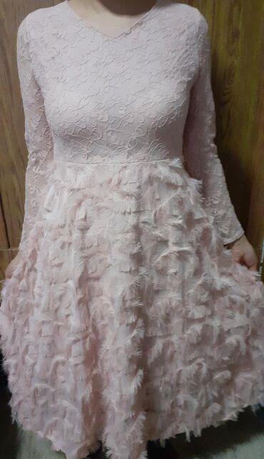 Продаю красивое вечернее платье,персикового цвета. Одевала 1 раз на