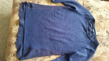 Bershka bluza - Srbija: Prelepa bluza velicina S. Marke Berchka .Teget boje