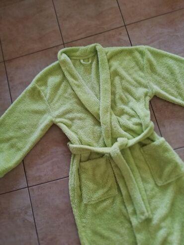 Ženska kućna odeća - Jagodina: Nov bade mantil, kiviVel m. Saljem post expresom. Rasprodaja sa mog
