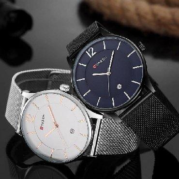 синий dodge в Кыргызстан: Серебристые Мужские Наручные часы Curren