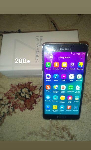 Samsung galaxy note 3 teze qiymeti - Azərbaycan: SAMSUNG Galaxy Note 4, 32 gb yaddas, micro card yeri var, ustada