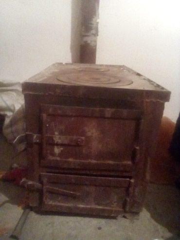 Печка буржуйка трубы 4метра Цена 5500 в Бишкек