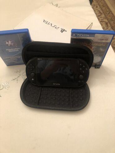 PS Vita (Sony Playstation Vita) - Azərbaycan: Hec bir probremi yoxdu Hersey yaxsi isleyir üstünde 2 oyun verirem