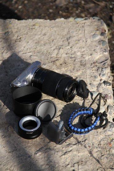 d600 в Кыргызстан: Не спеша продаю беззеркалкуSony Nex 5 с крутым объективом Sony 55-210