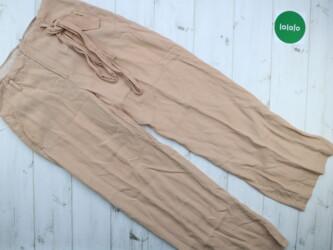 Женские прямые брьки Zara, р. М    Длина штанины: 101 см Шаг: 75 см По