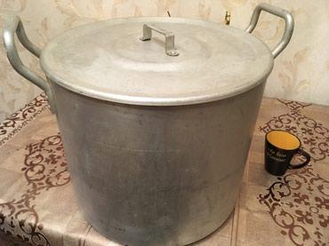 Sumqayıt şəhərində Qazan yeke 40 litr tutur , 8 kq çəkisi var əla vəziyyətdədir 2