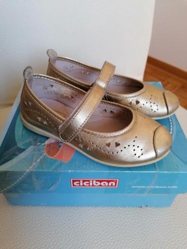 Pre cipelice broj - Srbija: Ciciban zlatne cipelice kozne anatomske, br 25 (unutrašnje gazište 15