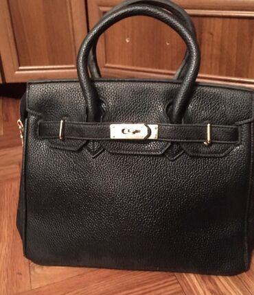сумка для мам в Кыргызстан: Сумка среднего размера в идеальном состоянии, эко кожа