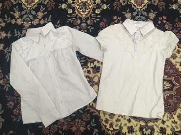 Детский мир в Баетов: Детские рубашки блузочки на девочек 7-8 лет б/у в хорошем состоянии по