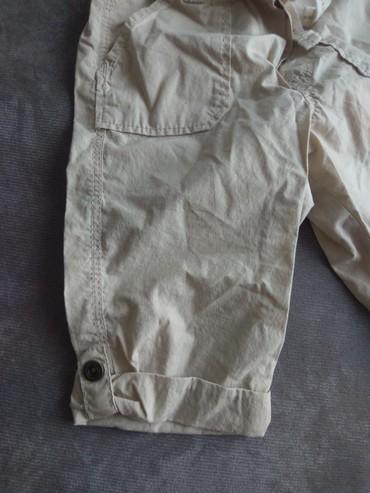 Amisu karirane bermude - Srbija: Letnje pantalone HM,mogu I kao bermude
