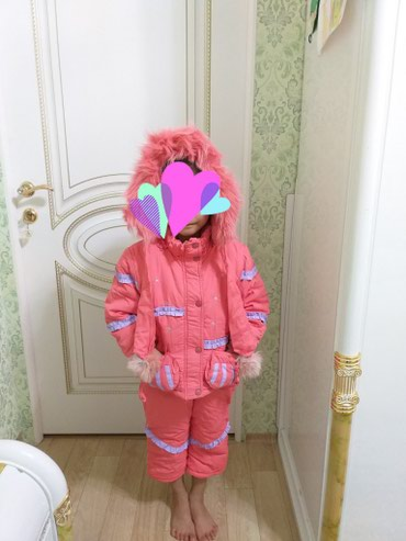 Детская зимняя куртка со штанами на 5-6 лет в Токмак