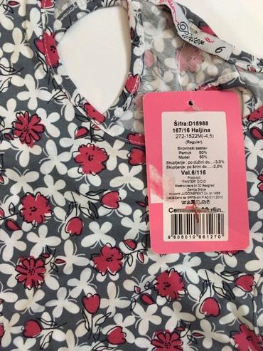 Haljina sa etiketom - Srbija: Nova sa etiketom, pamucna haljina vel 6