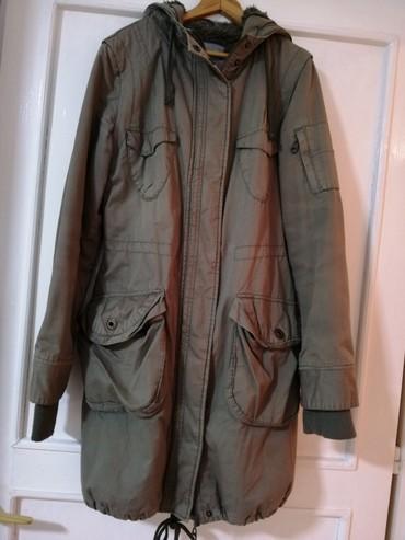 Ženska zelena zimska jakna br. 38-40 - Obrenovac