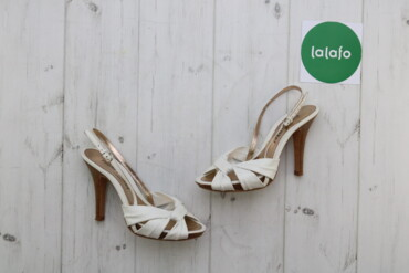 Женская обувь - Украина: Жіночі босоніжки Pablo Fuster, р. 37   Довжина каблука: 7 см Матеріал