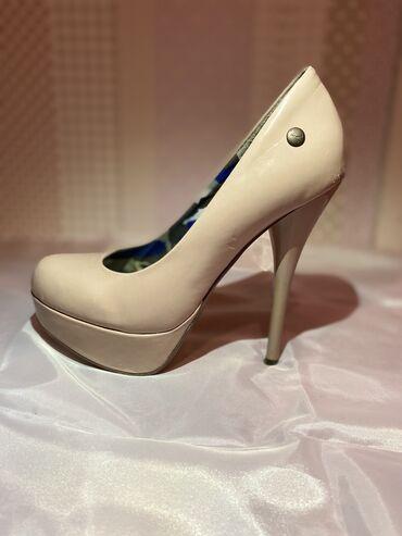 Cipele 37 - Srbija: Lakovane cipele u boji kože br.37