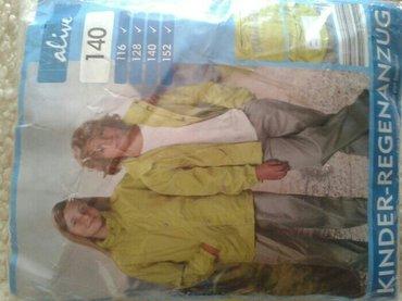 Dečija jakna i pantalone,nepromočivo,za kišu broj 140. Iz austrije. Ne - Smederevo