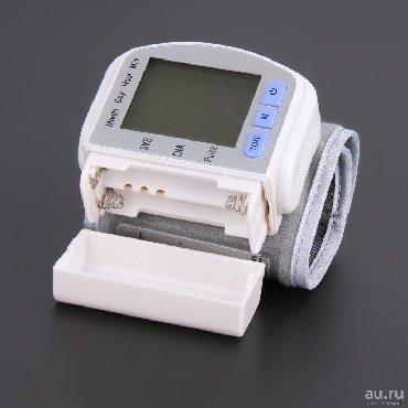 Электронный Тонометр для Измерения Артериального Давления +бесплатная