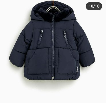 shapka-zara-dlja-devochki в Кыргызстан: Zara куртка. Размер 12-24м