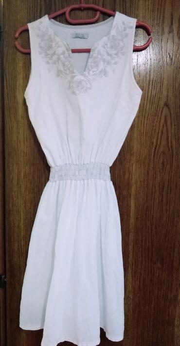 Ženska lanena haljina NOVA Vel. M Cena 700 din