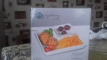 Удобное мобильное посуда. Для салата и соуса. Дубай. Цена гоговорная в Бишкек