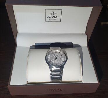 Срочно продаю часы JOVIAL SILVER. Часы мужские очень хорошие.Состояние