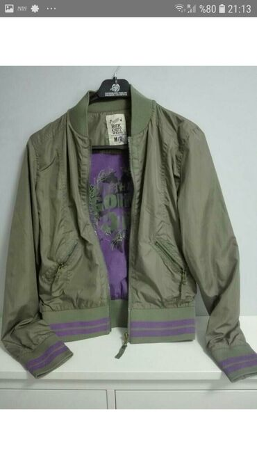 Куртка женская бренда Bershka Бержка оригинал новая размер м/38